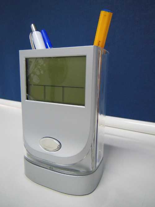 JK-2538. Подставка для карандашей и ручек с подсветкой