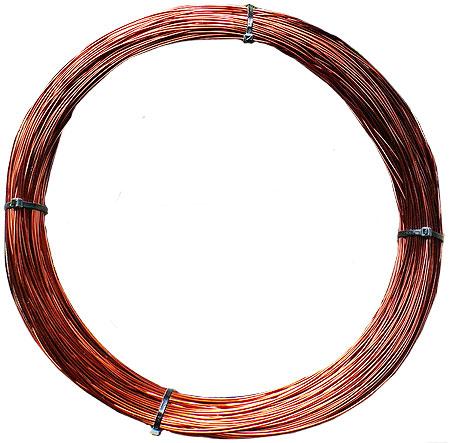Провод эмалированный ПЭТВ-2. Диаметр по меди 3,55 мм. Вес  - 1000 г. Длина  - 10 метров.