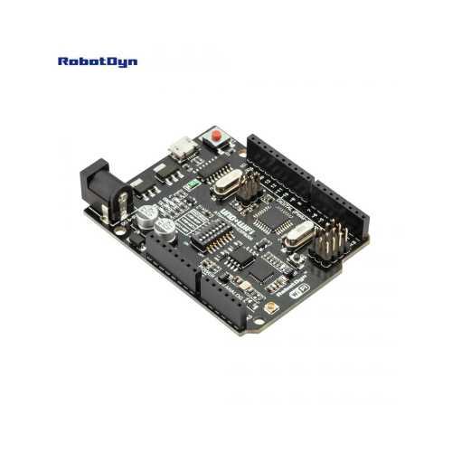 RobotDyn UNO R3 (Arduino совместимая плата, построенная на микроконтроллере ATmega328P)