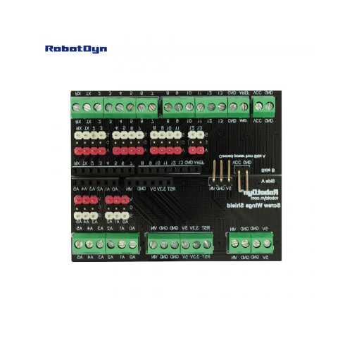 Клеммный Шилд для Arduino Uno (Screw)