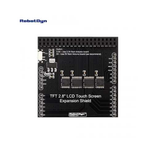 Плата расширения для lCD TFT 2.8 LCD TS, для Uno/Mega