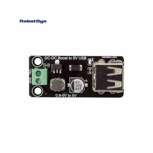 RobotDyn Модуль конвертер, повышающий усилитель 0.9 - 5 В в 5 В