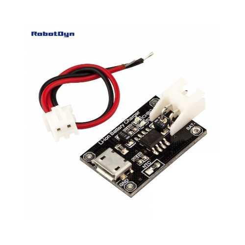 RobotDyn Модуль зарядного устройства Li-Ion Micro-Usb TP4056