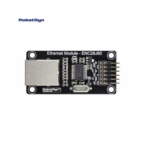 RobotDyn Ethernet-модуль ENC28J60 3.3V/5V