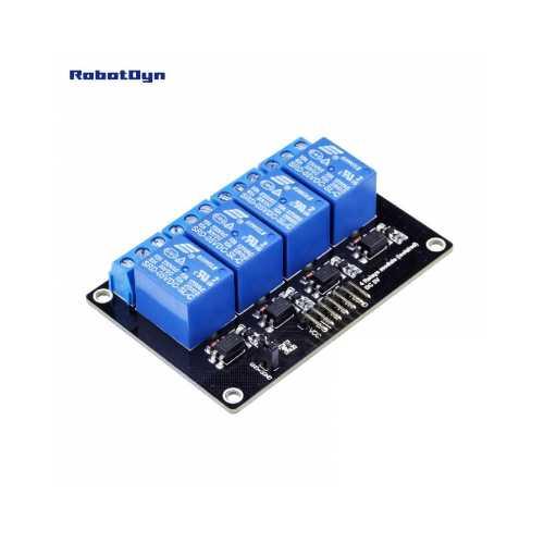 RobotDyn Модуль Реле ( 4 реле ) 5 В