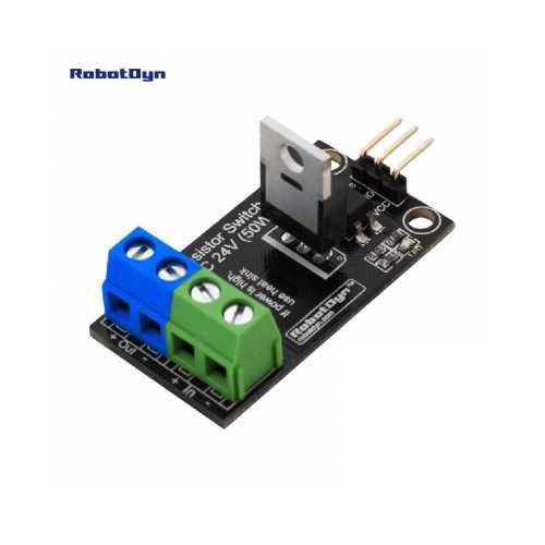 RobotDyn Транзистор DC Реле, 5 В logic, DC 24 В / 30 А (Тиристорный ключ)