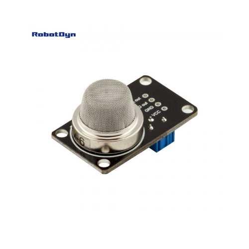 RobotDyn Модуль с датчиком газа Пропана/Бутана MQ-6 (analog and digital out)
