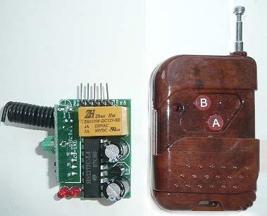 Модуль RMC035. Выключатель дистанционный одноканальный RC-1-12-GR-1L на радиочастоте