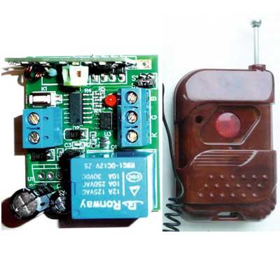 Выключатель дистанционный на радиочастоте RC-1-12-SR-М-KP1