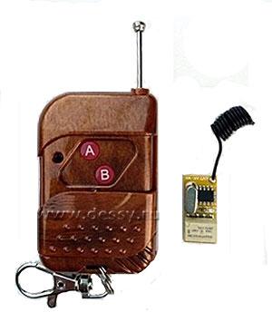 Миниатюрная система дистанционного управления RC-1-3-R на радиочастоте