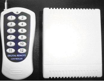 Система дистационного управления 12-ти канальная на радиочастоте (СДУ) FP-12-multi.