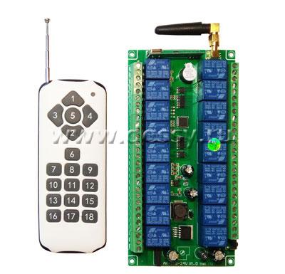 Система дистанционного управления на радиочастоте на 18 каналов