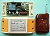Модуль RMC082. Дистанционный радиовыключатель RC-1X2-220-KP. Один пульт для двух разнесённых независимых блока включения-выключения