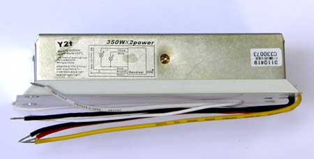 BY-2T. Двухканальное дистанционное управление с возможностью плавной регулировки (dimmer) c коммутируемой мощностью 350 Вт