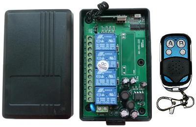RC-4-220-АK-KP4. Выключатель дистанционный на радиочастоте (4 канала)