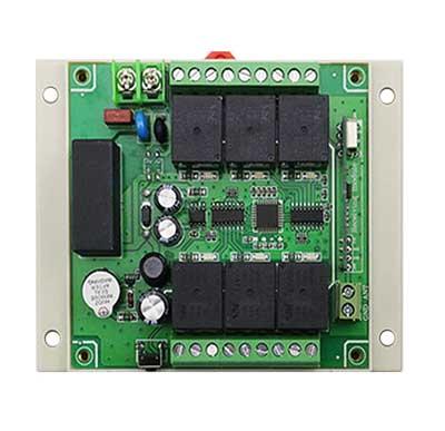 Дистанционный 6-ти канальный выключатель на DIN-рейку