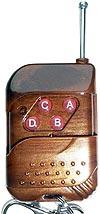 Пульт PDU4-1 4 кнопки для систем дистанционного управления