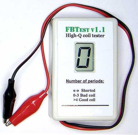 Прибор FBTest v1.1 для обнаружения короткозамкнутых витков в импульсных трансформаторах