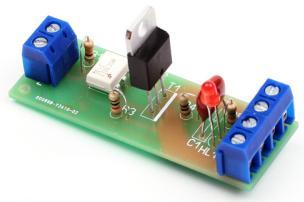 Радиоконструктор RA028. Полупроводниковый (симисторный) модуль коммутации силовой нагрузки (AC 220 В ; 10 А ; 2200 Вт) с гальванической развязкой