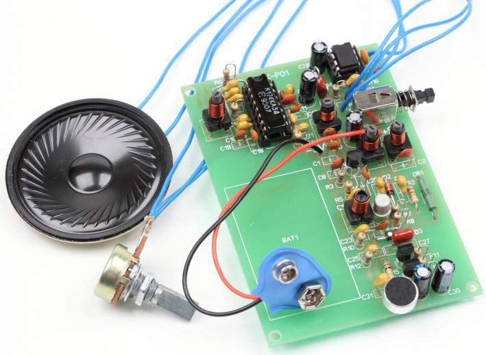 Радиоконструктор RKT-F01. Портативная радиостанция 27 МГц