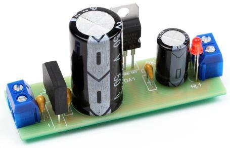 Радиоконструктор RP017. Стабилизированный блок питания (12 В ; 1 А)