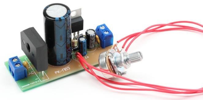 Радиоконструктор RP019. Стабилизированный регулируемый блок питания (1,2...25 В ; 5 А)