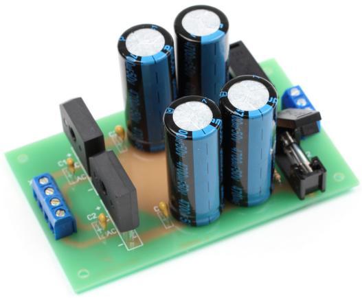 Радиоконструктор RP020. Блок питания усилителя мощности (±25...35 В ; 5 А)