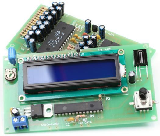 Радиоконструктор RS006. Контроллер домашнего кинотеатра (4 стерео канала и один 6-канальный)