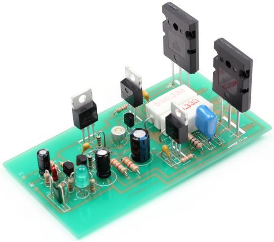 Радиоконструктор RS008. Оконечный одноканальный УНЧ (100 Вт)