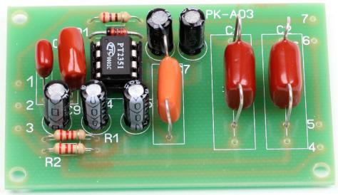 Радиоконструктор RS010. Фильтр НЧ для сабвуфера