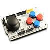 SH JK4B2. Аналоговый двухосевой джойстик, 4 большие кнопки и 2 маленькие. Плата-расширение для Arduino