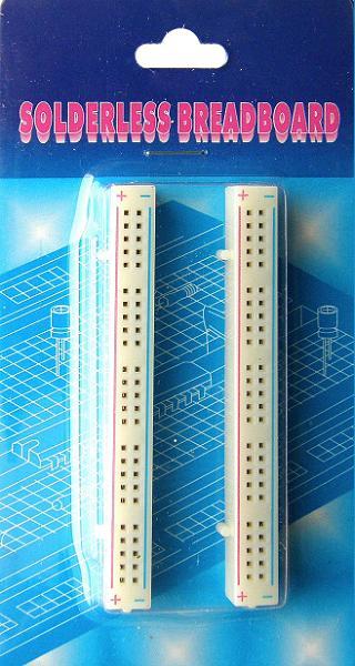 BB-801-1. Набор из 2-х плат расширения для макетных плат для монтажа без пайки