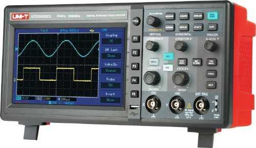 UTD2025CL-R. Цифровой настольный осциллограф 25 МГц
