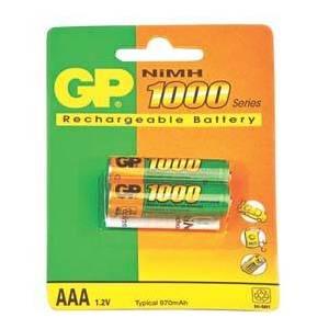 Аккумулятор GP R3 NiMh 1000mAh BL-2