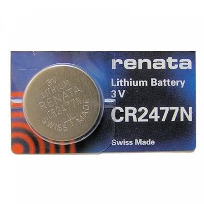 Литиевая батарейка RENATA CR2477N