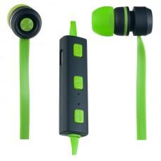 Стереонаушники PERFEO SOUND STRIP беспроводные с микрофоном зеленые / черные (PF-BTS-GRN / BLK)