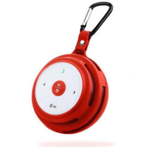 Колонка HIPER Sound Go (Bluetooth, AUX IN, 3 W, 100 - 20000 Hz, красная)        Новинка!