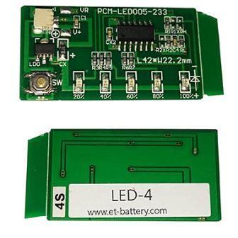 Индикатор заряда батареи 4S