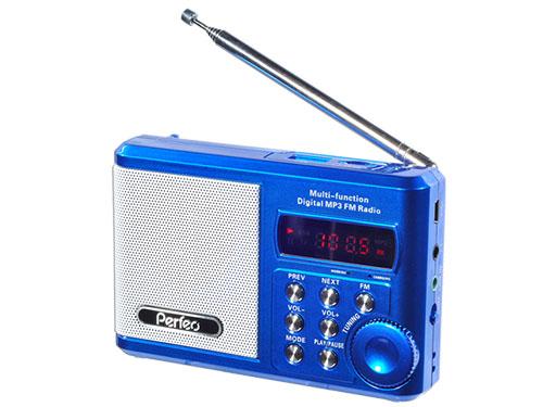 Радиоприемник PERFEO Dual Band Sound Ranger PF-SV922BL, USB, microSD. СИНИЙ