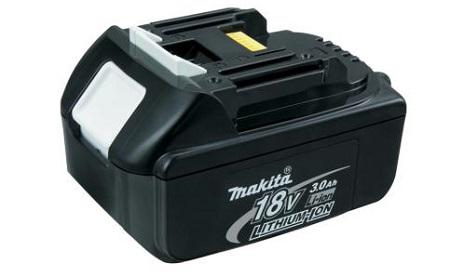 Аккумуляторная сборка Li-ion BL 1830 (18V / 3Ah) для MAKITA (пластиковый корпус)