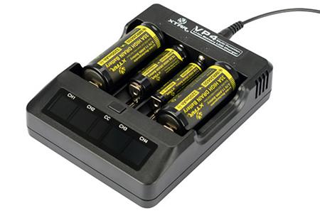 Зарядное устройство XTAR VP4 для Li-Ion с экраном