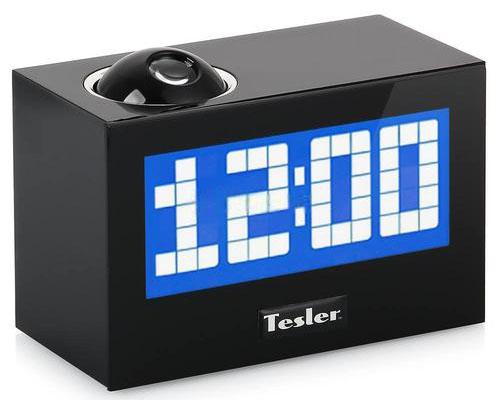 Радиочасы TESLER CR-320 Black (цифровой дисплей, будильник, проектор, радио FM-AM)