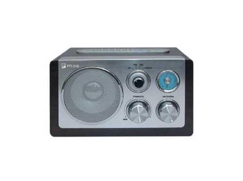 Радиоприемник БЗРП РП-318, УКВ 64-108МГц, 220V, USB, SD, стереозвук