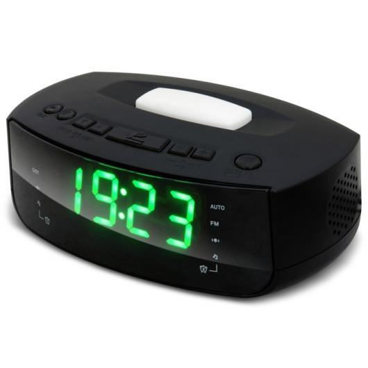 Радиобудильник RITMIX RRC-1215 (цифровой дисплей 30мм (высота цифр), ночная подсветка, радио FM: 64-108МГц)