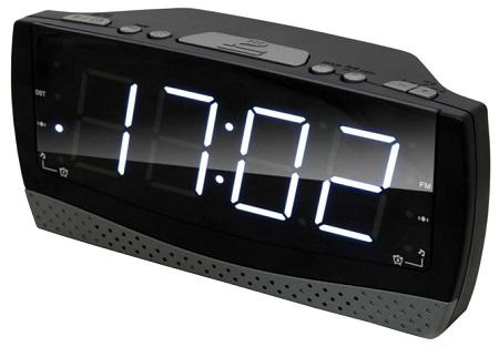 Радиобудильник RITMIX RRC-1808 (цифровой дисплей 40мм (высота цифр), радио FM: 64-108МГц)