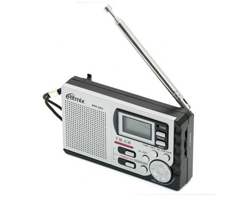 Радиоприемник RITMIX RPR-3021 Black (AM/FM, 2*AAA)