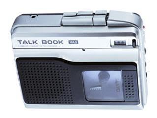 Диктофон микрокассетный SANYO TRC-870C (встроенный динамик, кассета в комплекте, вес 170 г.)