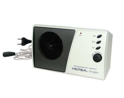 Радиоприемник трехпрограммный проводного вещания Нейва ПТ-322-1 (Блок питания 15В)        Новинка!