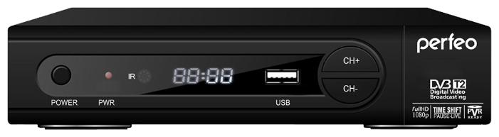 PERFEO DVB-T2 PF-168-1-OUT. Приставка для цифрового TV