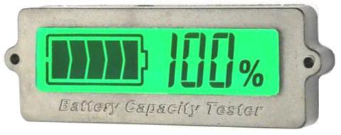 BW-LY6 V2. Индикатор уровня заряда АКБ (1-15S Li-ION, 1-4S Pb)